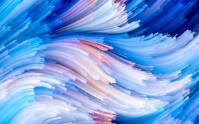 Wallpaper background, rainbow, painting, colorful, abstract, splash, colors