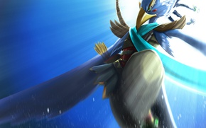 Picture bird, bow, warrior, arrow, The Legend Of Zelda: Breath Of The Wild, The Legend Of …