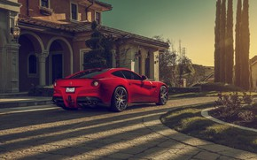 Wallpaper Ferrari, Berlinetta, F12, Luxury, Wheels