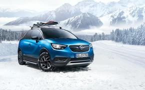 Picture winter, Opel, Turbo, 2018, Accessorized, Crossland X