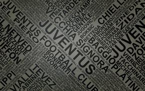 Picture letters, newspaper, footbal, names, juventus by fernan