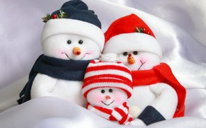 Picture decoration, New Year, Christmas, snowman, Christmas, Merry Christmas, Xmas, snowman, decoration, holiday celebration