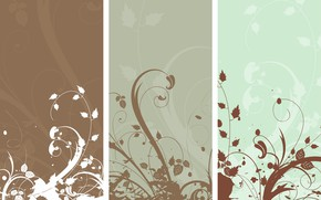 Picture flowers, abstraction, background, Wallpaper, vector, texture