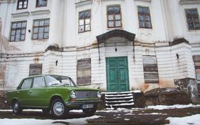 Picture penny, Green, green, Latvia, Lada, Sdmedia