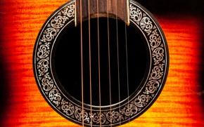 Picture music, guitar, strings, insta:kportfolio