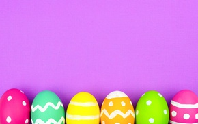 Picture colorful, Easter, background, spring, eggs, Happy Easter, Easter eggs