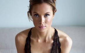 Picture portrait, sponge, the beauty, Denmark, Heine Man, Sophia B