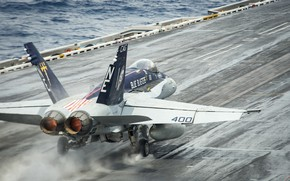 Picture the rise, Hornet, carrier-based fighter, FA-18C