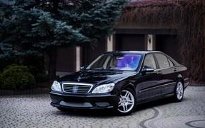 Picture Mercedes, Classic, Black, Legend, S500, W220