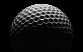 Picture white, black, golf, ball