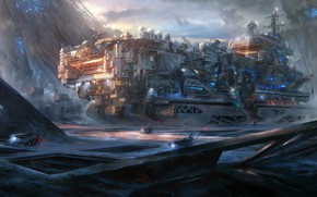 Picture Ice age Ark, beyond Human environment art challenge, doneas, snowtown