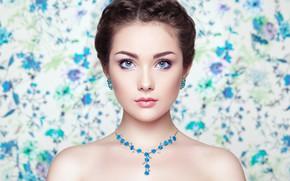 Picture eyes, look, girl, decoration, Sasha, Oleg Gekman