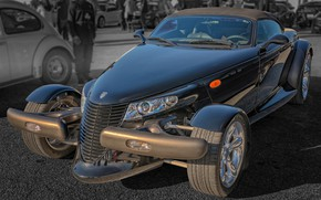 Picture retro, Roadster, Plymouth, Prowler