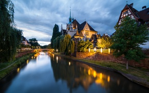 Picture France, Strasbourg, Lycée des Pontonniers, Strasbourg, France