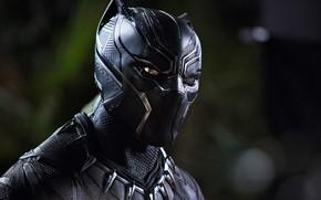 Wallpaper cinema, film, panther, Black Panther, Wakandak, uniform, mask, You challa, movie, king, hero, Chadwick Boseman, ...