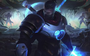 Picture look, guy, fighter, League of Legends