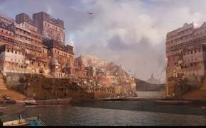 Picture the city, building, home, harbour, Estudio Mat, huion