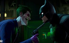 Picture The game, Look, Smile, Joker, Batman, Costume, Weapons, Hero, Mask, Superhero, Hero, Batman, Smile, Joker, …