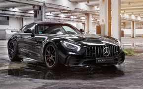 Picture Mercedes-Benz, front view, AMG, 2018, Edo Competition, GT R
