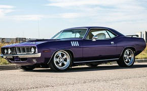 Picture Barracuda, Plymouth, Wheels, Forgeline, CR3