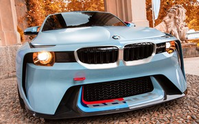 Picture Concept, Auto, BMW, Machine, Logo, Grille, turbo, Lights, 2002, The front, New, BMW 2002, BMW …