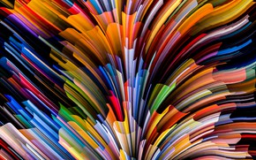 Picture colors, colorful, abstract, rainbow, background, splash, painting