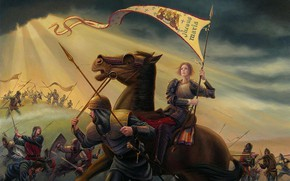Picture 2003, Douglas, Allen, Saint Joan of Arc in the war with the British