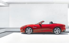 Picture Jaguar, convertible, F-Type