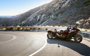 Picture beautiful, comfort, hi-tech, Polaris, Slingshot, technology, sporty, tricycle, 011
