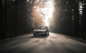 Picture Auto, Road, Trees, Machine, AUDI, 100, 100 C1, AUDI 100, Distinction Automotive, AUDI 100 C1
