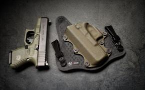 Picture gun, Glock, holster