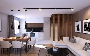 Picture style, furniture, interior, apartment, modern
