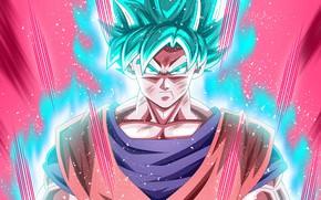 Picture DBS, alien, anime, power, martial artist, God, warrior, manga, Son Goku, powerful, Dragon Ball, strong, …