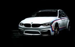 Wallpaper BMW, BMW, black background, 3-Series, F80