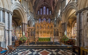 Picture Diliff, Cambridgeshire, interior, UK, Ely Cathedral