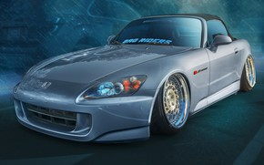 Picture design, Honda, S2000, sports car