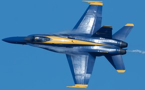 Picture show, the plane, Blue Angels