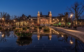Picture Amsterdam, Netherlands, Amsterdam, Holland, Rijksmuseum