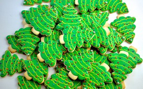 Picture tree, cookies, Christmas, cakes, sweet