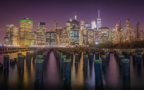 Picture Night, The city, New York