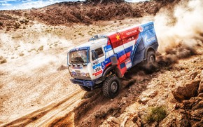 Picture Sport, Speed, Truck, Race, Master, Russia, Kamaz, Rally, KAMAZ-master, Rally, KAMAZ, The roads, Master, 315, …