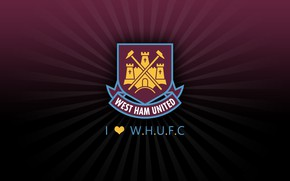 Picture wallpaper, sport, logo, football, West Ham United