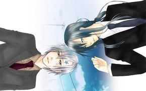 Picture anime, art, guys, D.Gray-man, All Walker