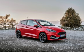 Picture red, Ford, 2018, 3-Door, Fiesta ST