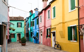 Picture Home, Street, Italy, Venice, Italy, Street, Venice, Italia, Venice, Burano, Burano