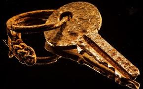 Picture macro, key, rust