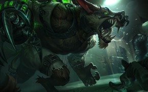 Picture The game, Teeth, Evil, Fangs, Claws, Rage, Game, Rage, League of legends, LoL, League of ...