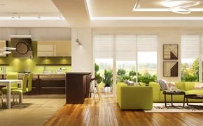 Picture Design, Sofa, Table, Interior, Chairs