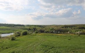 Picture Nature, Pond, Vorontsy, Veydelevka, Old farmhouse