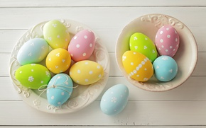 Picture Easter, spring, Easter, eggs, Happy, pastel, the painted eggs